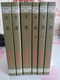 文选(全六册)(平)(二版一印,中国古典文学丛书)