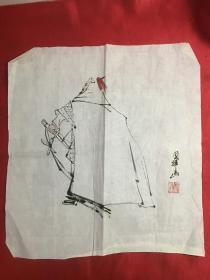 刘国辉 人物画