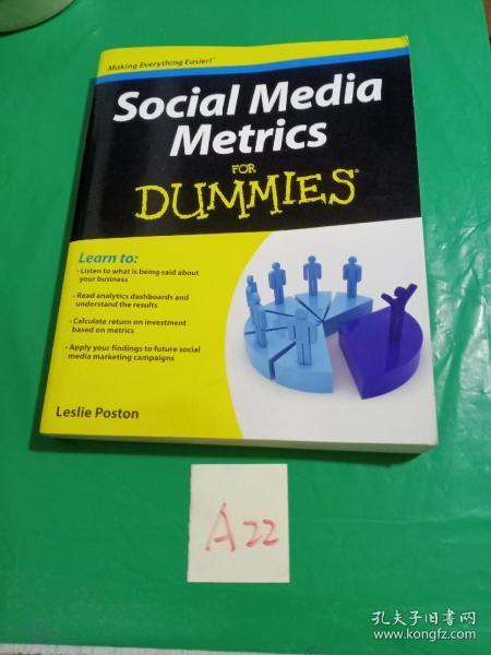 Social Media Metrics For Dummies[社会媒体韵律学达人迷]