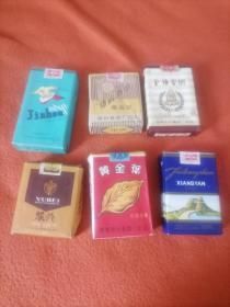 实物烟6盒