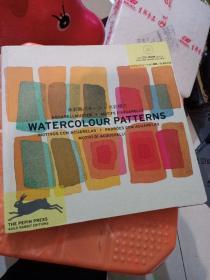 水彩画水彩样式 WATERCOLOUR PATTERNS