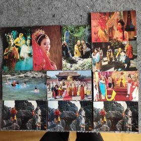 西游记明信片(11张)