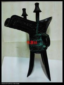 铜爵摆件(高31厘米 长23厘米 宽12厘米 重4斤4两)包中通快递