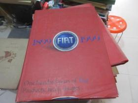 one hundred years of fiat products faces images  1899-1999  库2