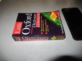 Little Oxford Dictionary and Thesaurus 英文原版 口袋版