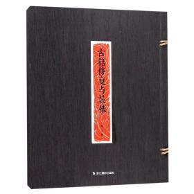 古籍修复与装裱 陈宁著 中国历史文物修复技术图解 碑帖拓片古书