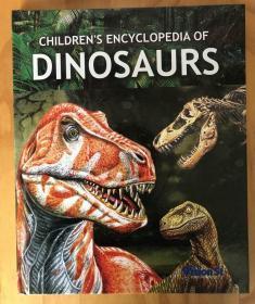 全彩图儿童百科全书  恐龙 Dinosaurs 学生英语学习 科学科普书 2019出版