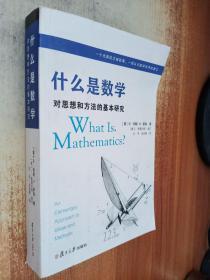 什么是数学:对思想和方法的基本研究 (第4版)