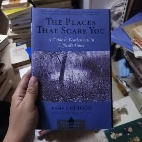 Pema Chodron:The Places that Scare You : A Guide to Fearlessness in Difficult Times (Shambhala Classics) 英文原版书