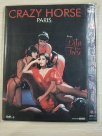 DVD-9  巴黎疯马歌舞秀 Crazy Horse(导演: 弗雷德里克·怀斯曼)记录片 又名: 疯马俱乐部 / 疯马艳舞团