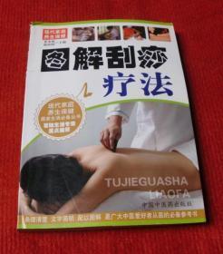 中医书,医学书--图解刮痧疗法--T6