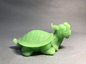 文房料器龙龟镇纸,赑屃