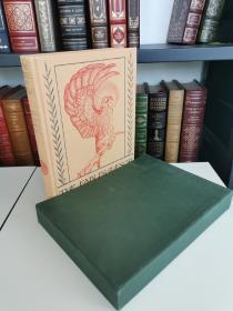 Aesops Fables《 伊索寓言》folio society 2002 年出版 布面精装 带书匣 edward Detmold 彩色插画配图的经典版本,近全新的品相,阅读收藏佳品