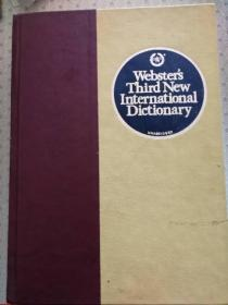 Websters Third New International Dictionary of the English Dictionary  Unabridged 带拇指索引