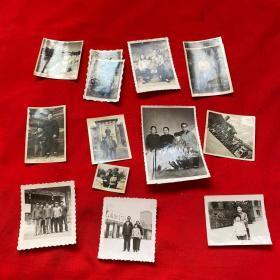 老照片12张合售