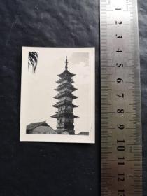 上海松江老照片 【李塔】    约五六十年代   稀见  珍贵