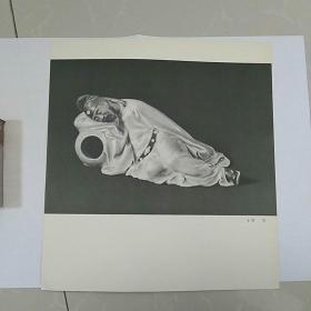 12开图片,陶瓷人物,李白