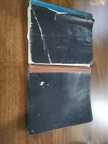 1988年三级厨师烹饪笔记。两本合售