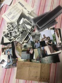 原中国乒乓球国手王燕生/王彦生,后移民挪威的家族照片共约160张,其中黑白照约50张。另外还有黑白照底片约50张。以及信件一封。