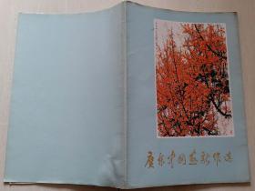 1975年1版1印《广东中国画新作选》(8开,关山月等作品40幅,内品好)