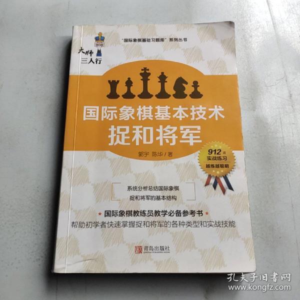 国际象棋基本技术 捉和将军