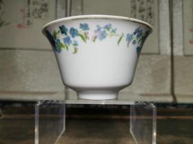 民国时期景德镇窑瓷器江西改良瓷底款贴花茶碗