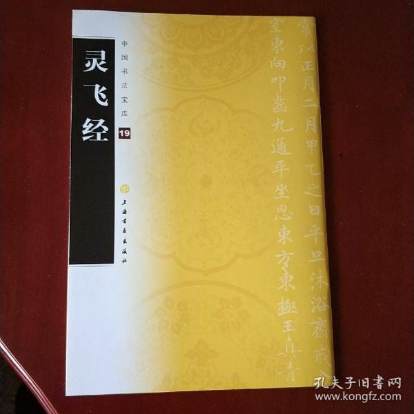 中国书法宝库:灵飞经