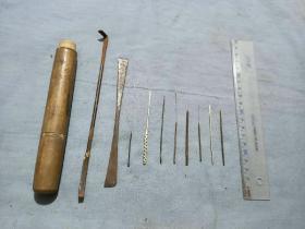 老中医工具针灸针一盒