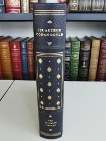 The Best of Sherlock Holmes 《福尔摩斯精选集》Sir Arthur Conan Doyle 柯南道尔 franklin library 1977年 真皮精装 限量版收藏版 世界伟大作家系列丛书