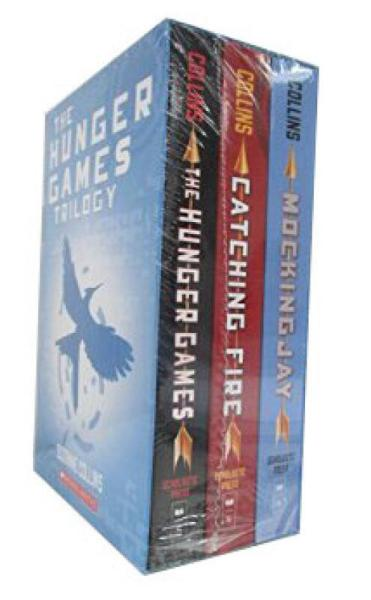 The Hunger Games Trilogy Box Set (Books 1-3) 饥饿游戏套装(平装)