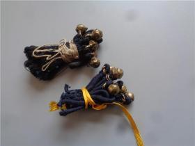 清代高浮雕小铜扣子10枚
