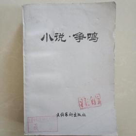 小说 争鸣 第一辑