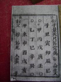 31-198.邵子量天尺一册