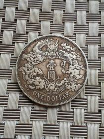 老银元保真直径3.9厘米厚0.25厘米重26.7克,急售亏出001