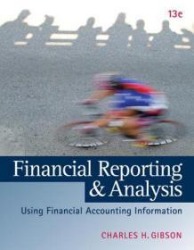 FinancialReportingandAnalysis(withThomsononePrintedAccessCard)