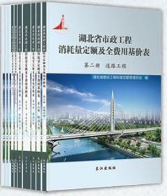湖北省市政工程消耗量定额及全费用基价表-2018版 全十册 现货包邮