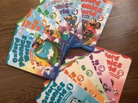 oxford phonics world 牛津自然拼读世界点读版全套10册 送音频视频互动