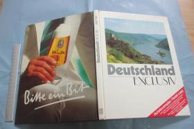 Deutschland Exclusiv 【德文原版 硬精装16开 铜版彩印  1987/88】