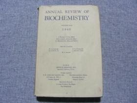 ANNUAL REVIEW OF BIOCHEMISTRY 1948