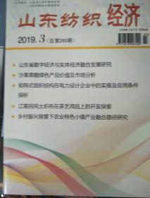 山东纺织经济2019年3期