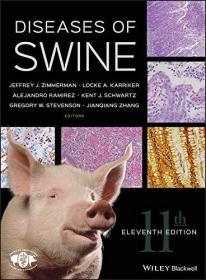 Diseases of Swine 英文原版 猪病学 Jeffrey J. Zimmerman