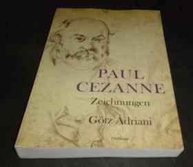 Paul Cezanne 1978 2手德文 塞尚素描  小本 scc59