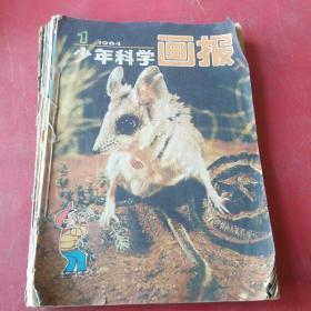 少年科学画报1984年1、2、3、4、5、6、11期+1981年10、11期+我们爱科学1982年5期  共10本合售