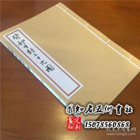 罕见手抄本中医针灸古籍 经穴背部十对二十穴图