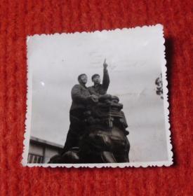 老照片,狮子背上望蓝天--红收藏夹包4