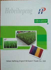 专业品质  成就未来(人造草坪产品画册)