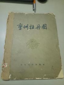 曹州牡丹图