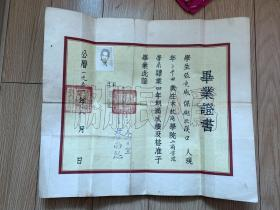 沪江大学毕业证书