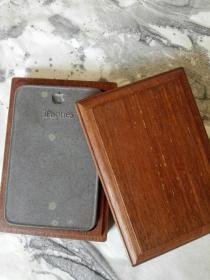 端砚: 形制独特  石品丰富   带原配木盒!