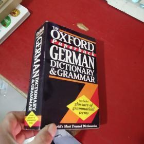 Oxford Paperback GERMAN DICTIONARY & GRAMMAR:牛津德语词典语法
